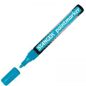 marker cu vopsea 2 4 mm stanger albastru 8774