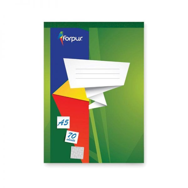bloc notes a5 forpus matematica 70 file 8803
