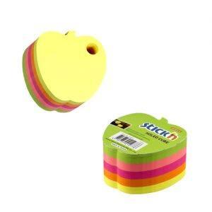 cub autoadeziv mar 70x70 mm stickn 5 culori neon 400 filebuc 9251