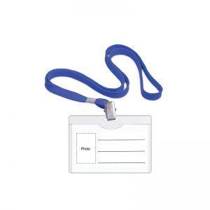 buzunar orizontal cu snur albastru pt ecuson forpus 90x54 mm 8807
