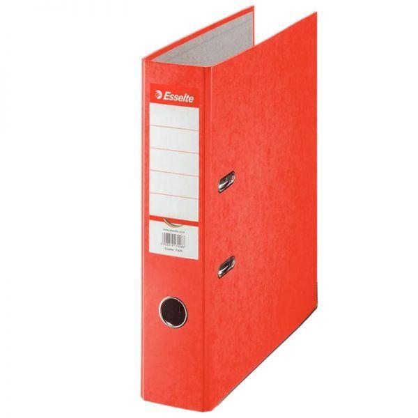 biblioraft a4 marmorat color 75 cm esselte rainbow rosu 9626