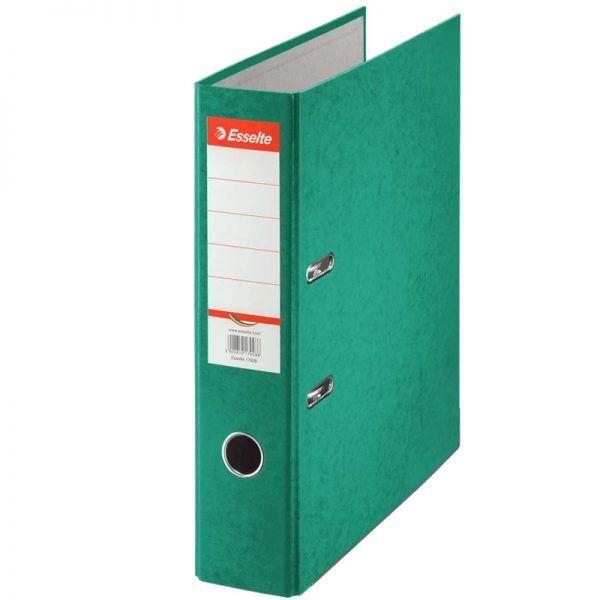 biblioraft a4 marmorat color 75 cm esselte rainbow verde 9627