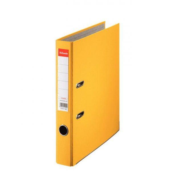 biblioraft a4 plastifiat 5 cm esselte eco galben 9631