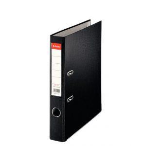 biblioraft a4 plastifiat 5 cm esselte eco negru 9634