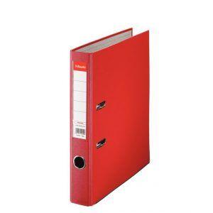 biblioraft a4 plastifiat 5 cm esselte eco rosu 9636