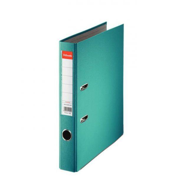 biblioraft a4 plastifiat 5 cm esselte eco turquoise 9637