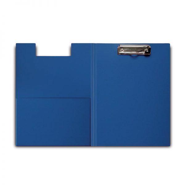 clipboard dublu a4 plastifiat forpus albastru 8840