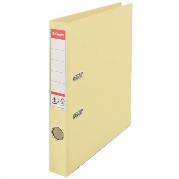 biblioraft a4 plastifiat 5 cm esselte standard crem scoica 9644