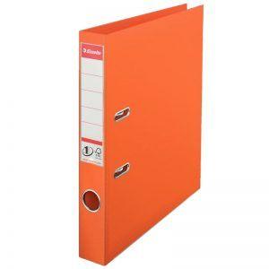 biblioraft a4 plastifiat 5 cm esselte standard orange 9650
