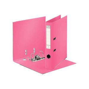 biblioraft a4 plastifiat 5 cm esselte standard roz 9652