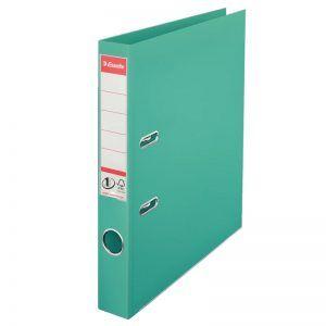 biblioraft a4 plastifiat 5 cm esselte standard turquoise 9653