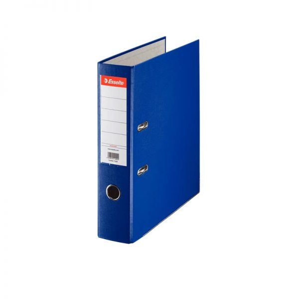 biblioraft a4 plastifiat 75 cm esselte eco albastru 9664