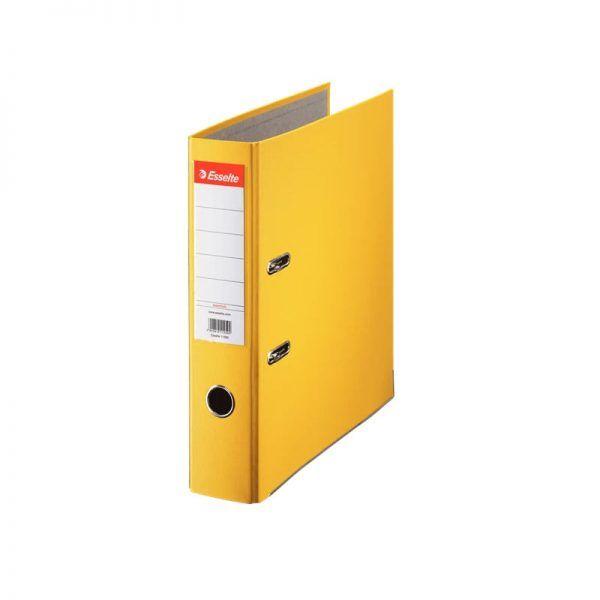 biblioraft a4 plastifiat 75 cm esselte eco galben 9666