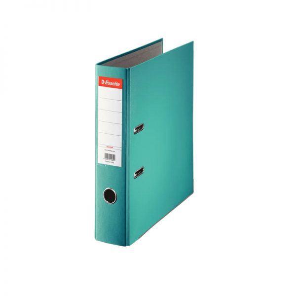 biblioraft a4 plastifiat 75 cm esselte eco turquoise 9672