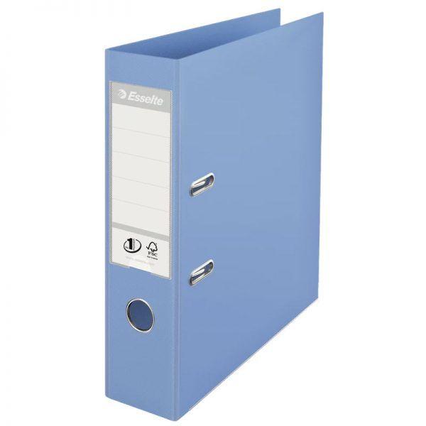 biblioraft a4 plastifiat 75 cm esselte standard bleu 9676