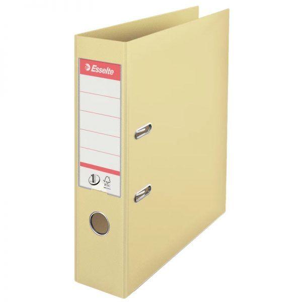 biblioraft a4 plastifiat 75 cm esselte standard crem scoica 9679