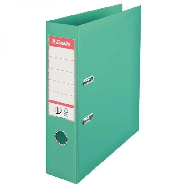 biblioraft a4 plastifiat 75 cm esselte standard verde pal 9690