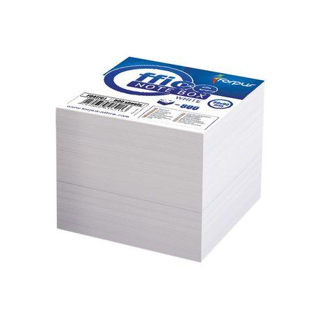 rezerva cub hartie forpus 85x85 cm 800 coli alba 8939