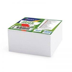 rezerva cub hartie forpus 9x9 cm lipita alba 8941