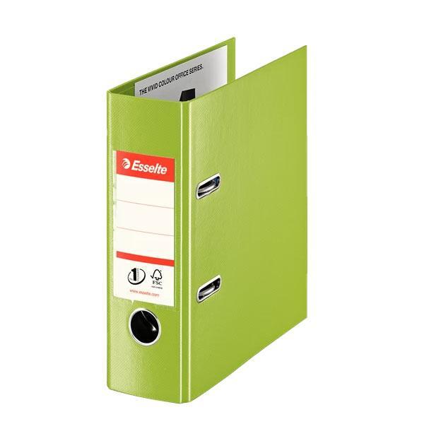 biblioraft a5 plastifiat 75 cm esselte standard vivida portrait verde 9709