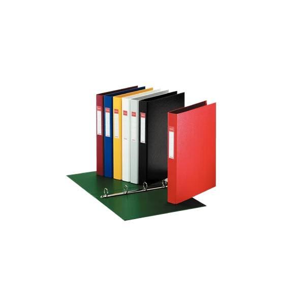 caiet mecanic a4 esselte standard vivida 4 inele 42 mm rosu 9728