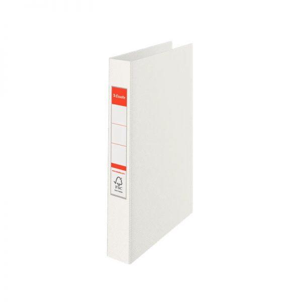 caiet mecanic a4 esselte standard vivida 4 inele 42 mm alb 9724
