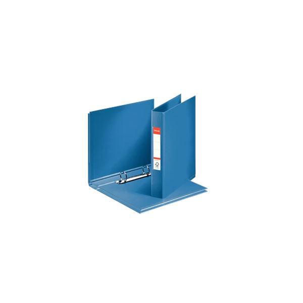 caiet mecanic a5 esselte standard vivida 2 inele 42 mm albastru 9730