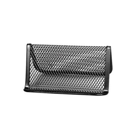 suport plasa metalica pt carti de vizita forpus negru 8969