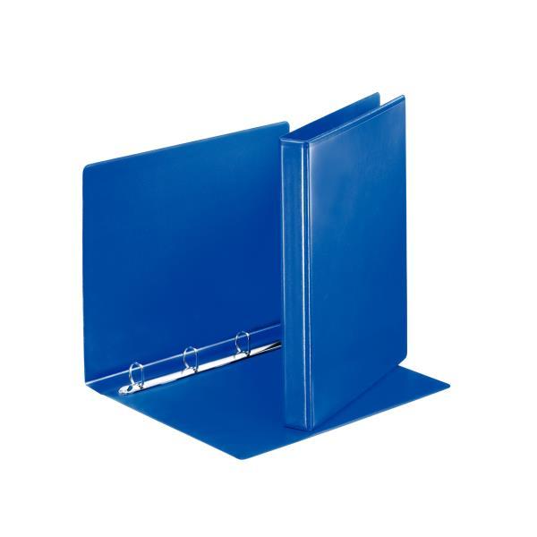 caiet mecanic personalizabil a4 esselte panorama 4 inele 38 mm albastru 9736