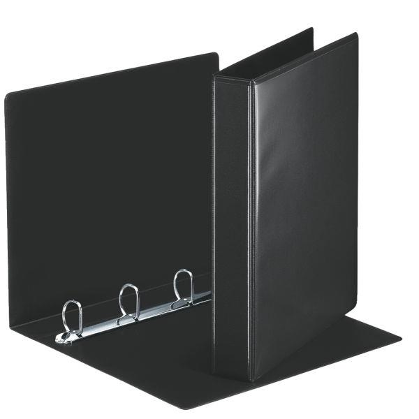 caiet mecanic personalizabil a4 esselte panorama 4 inele 51 mm negru 9740