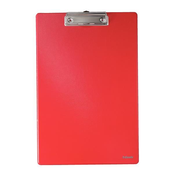 clipboard simplu a4 plastifiat esselte rosu 9752
