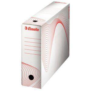 cutie de arhivare din carton alb esselte 352x100x250 mm 9771