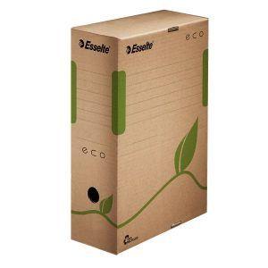 cutie de arhivare din carton natur esselte eco 327x100x233 mm 9781