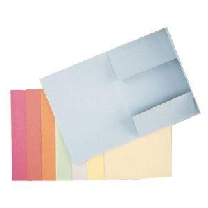 dosar din carton plic esselte albastru 9788