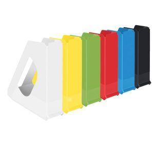 suport vertical din plastic esselte europost vivida galben 9937