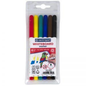 whiteboard marker centropen 2507 6 culoriset 8557
