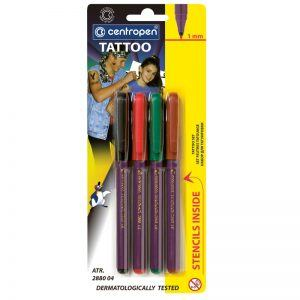 marker centropen 2880 tattoo 4 culoriset 8434