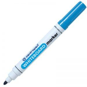 whiteboard marker centropen 8559 bleu 8560