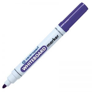 whiteboard marker centropen 8559 violet 8566
