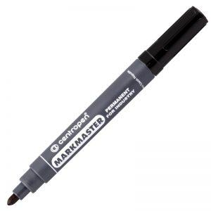 marker centropen 8599 industry varf rotund negru 8437