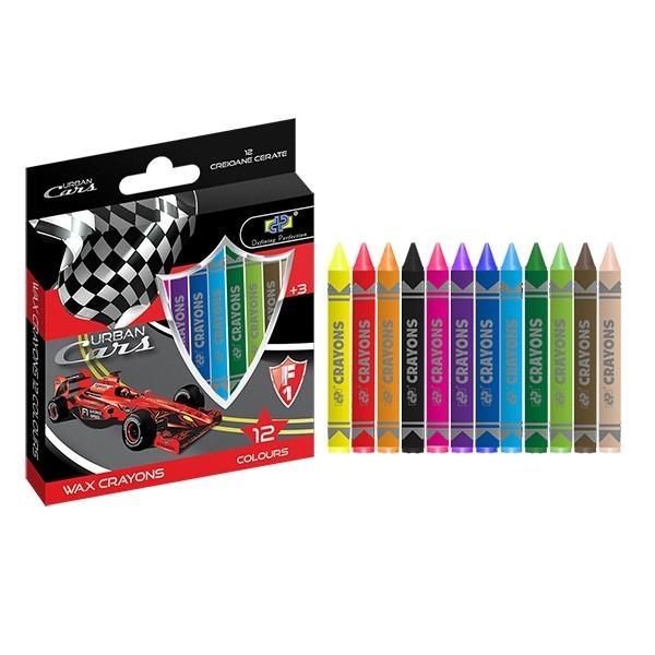 culori cerate 12 culori dp collection urban cars 6363