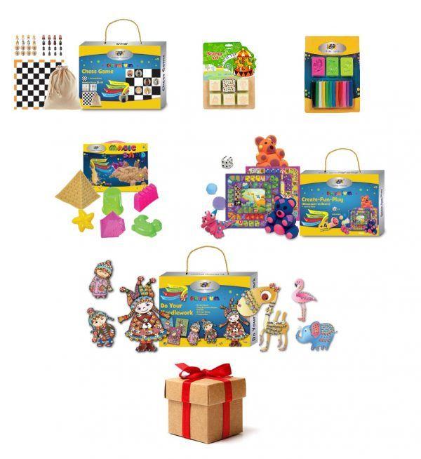 pachet wow 5 surprize dp collection seturi creativ educative 6402