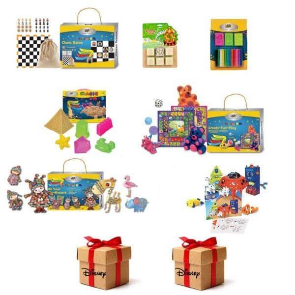 pachet wow 9 seturi creativ educative dp collection 6401