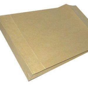 plic b4 130g 250x353 mm siliconic cu burduf cutie 250 maro 6462