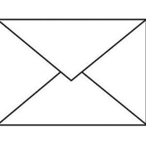 plic c6 70g 114x162 mm gumat cutie 1000 cu clapa in v alb 6468