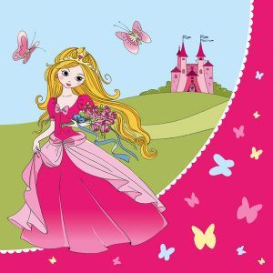 servetele 3333cm 3 straturi set 20 bucati princess 7729
