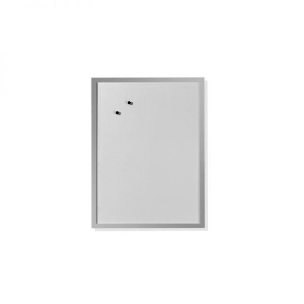 tabla conferinta magnetica cu rama lemn 40cmx60cm herlitz 6485