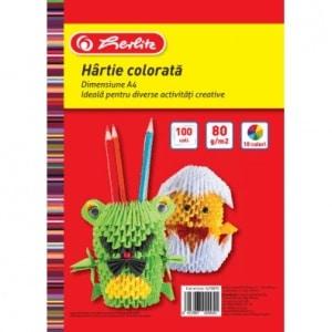 hartie color a4 80gr top 100 diverse culori 7563